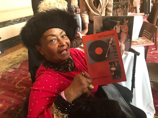 Barbara Henderson, widow of Billy Henderson of the Spinners, has known Aretha and her family since her Northern High School days.