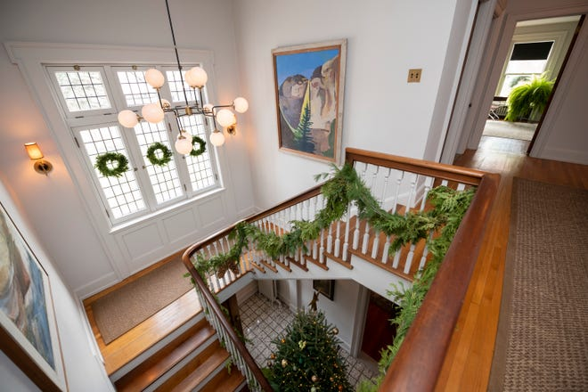 Detroit's Indian Village will hold its Holiday Home Tour on Dec. 8. Pictured is a home on last year's tour.