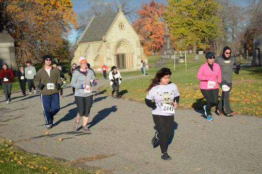Run of the Dead is Saturday starting at Patton Park in Detroit.