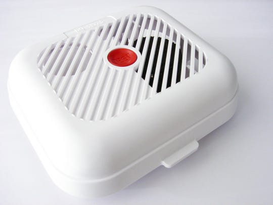 Smoke detectors should be checked monthly.