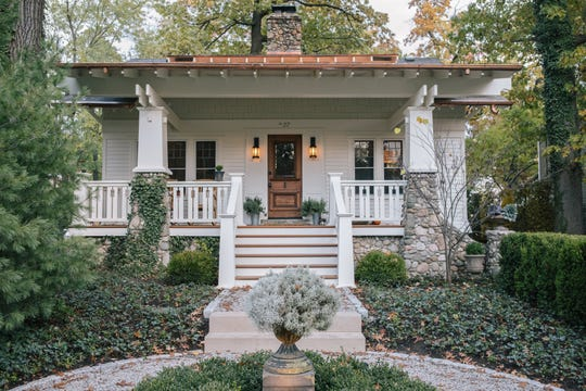 This Pleasant Ridge home comes to life after an extensive renovation that features a redesigned porch and new stairway