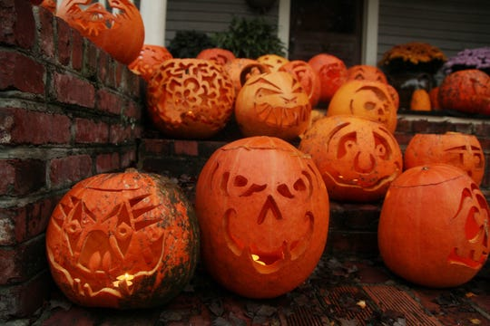 Aren't sure what to do with your old jack-o-lanterns? Consider composting them.