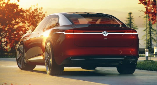 Starting in 2020, Volkswagen will be launching the I.D. Family, ID. VIZZION Concept shown, a range of newly-developed electric vehicles with long driving ranges and visionary design that will come to market in quick succession.
