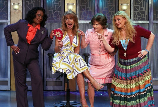 "The National Tour of ""MenoPause the Musical"" will stop at the Clemens Center Tuesday and Wednesday evening."