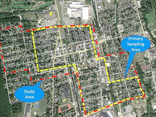 The U.S. Environmental Protection Agency is investigating vapor intrusion issues in the Village of Elmira Heights from the Facet Enterprises Superfund site.