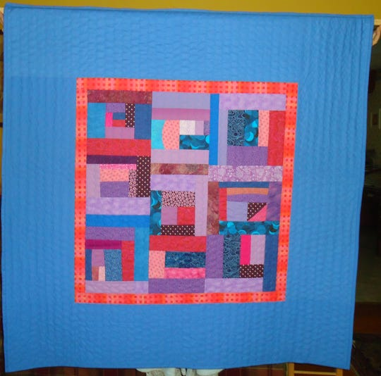 """Quilted: Cotton & Color Combined,"" a collection of quilts and quilted items by Carolyn Campbell, will open at the Tioga Arts Council Friday evening."
