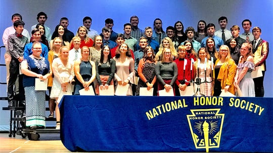 The Port Clinton National Honor Society recently held its induction ceremony.