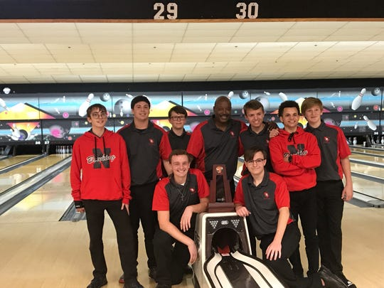 North Fort Myers' boys bowling team repeated as District 6 champions Monday, defeating Bishop Verot in the final at Lightning Strikes Lanes.