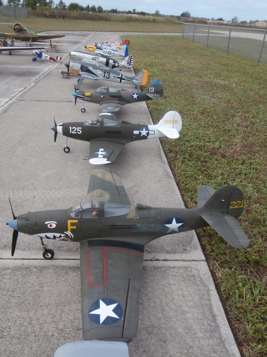Many pilot-controlled replicas of World War II-era fighter planes will fill the skies above Seahawk Park during the War Birds Over Cape Coral air show on Nov. 9.