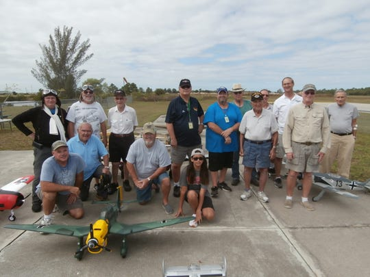 Members of the Cape Coral R/Seahawks Flying Club, which will reach 300-plus during winters, pilot their planes at Seahawk Park on a year-round basis.