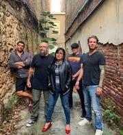 Reggae-rock band The Heart Attack Guns