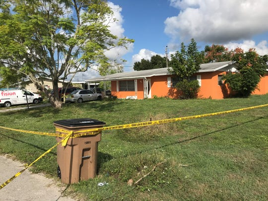 The Lee County Sheriff's Office conducted a homicide investigation at 1421 Juddale Street East in Lehigh Acres on Oct. 28, 2019. Deputies responded to the scene about 2 p.m. Sunday, Oct. 27, 2019. Investigators said a male and female were killed in a homicide.