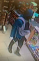 Cape Coral police say this machete-wielding robber took $80 in cash from a 7-Eleven early Monday, Oct. 28, 2019.