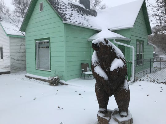 A winter storm is bearing down on Great Falls Monday.