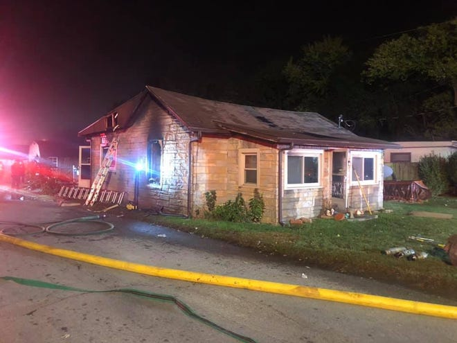 KSP is investigating a death that occurred during an early morning structure fire on North Elm Street (Oct. 28, 2019).