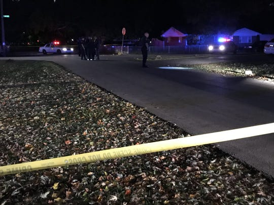 A 21-month-old girl was killed in her own driveway in the 1700 block of Exeter Avenue by a hit-and-run driver, IMPD said.