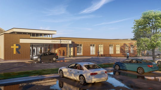 A rendering shows what the new educational wing of Regina will look like when complete in the fall of 2020.
