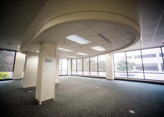 Inside the TVA East Tower in downtown Knoxville on Monday, October 28, 2019.