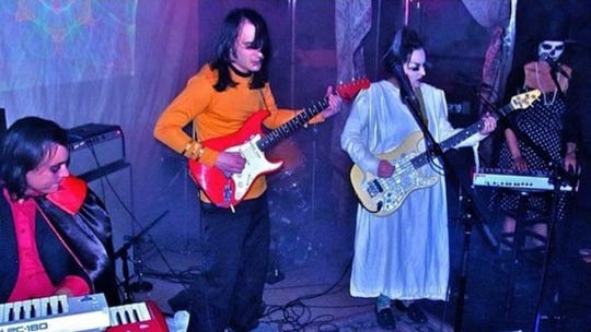Experimental rock band The Amazing Nuns perform Thursday at Artmosphere.