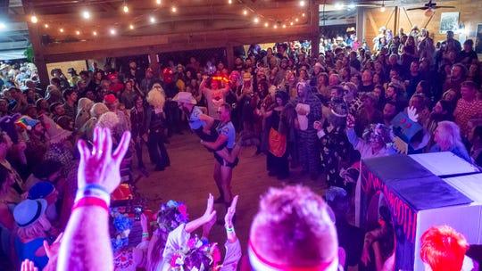 Halloween costume contest at The Blackpot Festival. Saturday, Oct. 26, 2019.