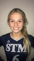 St. Thomas More volleyball player Georgia Hebert