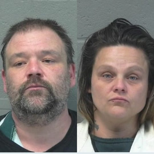 Anthony Webb and Malissa Young were arrested Monday in connection with a bomb threat that was made to a Rite Aid last week.
