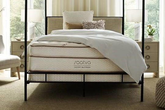 Saatva mattresses come in three comfort levels: plush soft, luxury firm and firm.