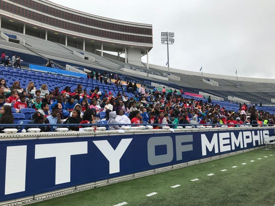 "Statistics in Schools, an educational program within the United States Census Bureau, launched in 2020 national programming in Memphis. More than 1,000 fifth graders filed into the Liberty Bowl Oct. 28 to participate in statistics activities inspired by the program's classroom curriculum.  Steven Dillingham, the director of the Census Bureau, spoke to the students, as well as Shelby County Schools superintendent Joris Ray. David Osmond of children's show ""Wonderama"" hosted Monday's program."