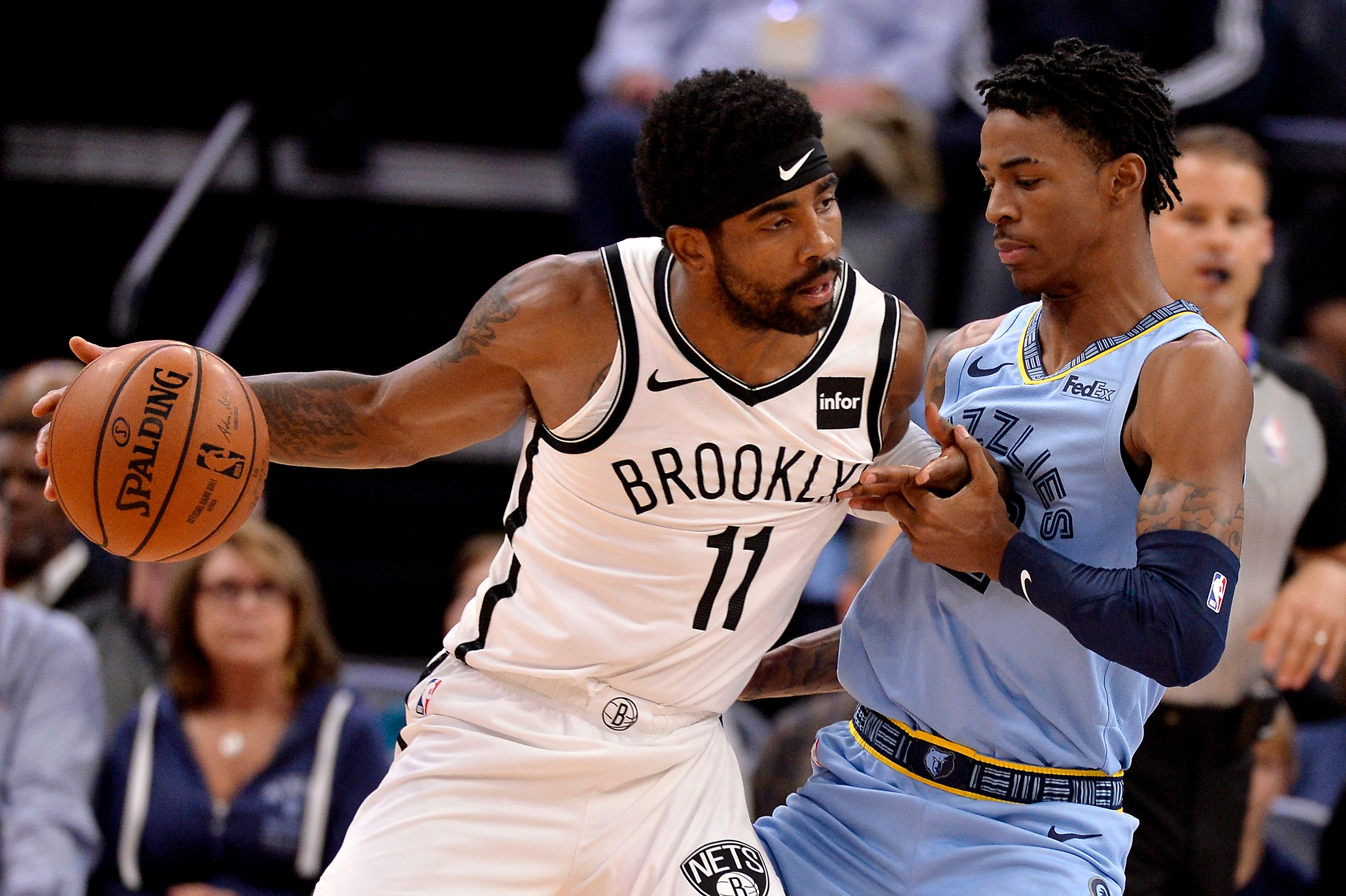 Grizzlies Vs Nets Ja Morant Leads Grizzlies Past Kyrie Irving Nets