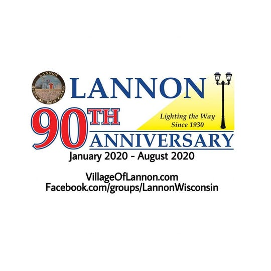 The village of Lannon is celebrating its 90th anniversary with a variety of events in 2020.
