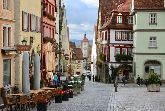 Villages like Rothenburg are centuries older than their Badger State counterparts.