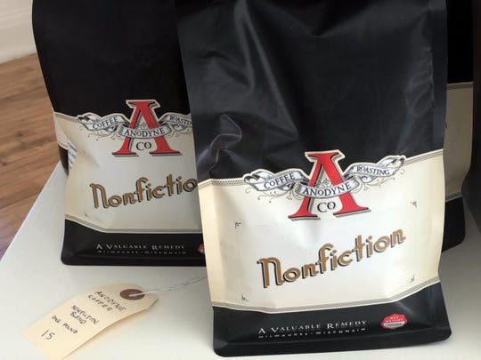 Nonfiction partnered with Anodyne to create their own coffee blend to sell in their shop.
