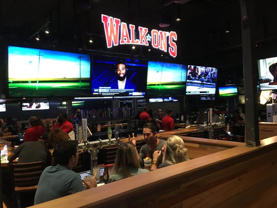 Walk-On's Bistreaux & Bar held a preview event Friday for its new location at 7801 Eastchase Parkway.