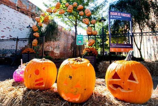 The Parade of Pumpkins is held in downtown Prattville, Ala., from October 25 to November 2.