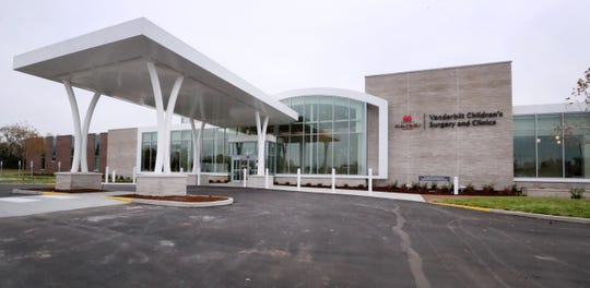 Vanderbilt University Medical Center recently opened a Children's Surgery and Clinics building off Garrison Drive and Thompson Lane in Murfreesboro's Gateway area.