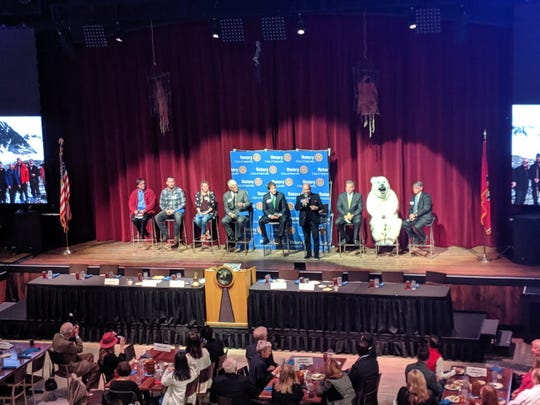 The Arctic 8 shares harrowing rescue tale to Nashville's Rotary Club.