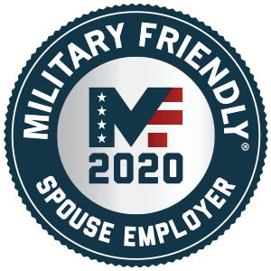 The Army & Air Force Exchange Service, with a goal of hiring 50,000 military spouses and Veterans by 2020, has been named a Military Friendly® Spouse Employer for the eighth time by the publisher of Military Spouse magazine.