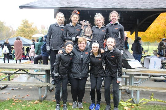 The Northville girls cross country team won its regional meet, advancing to the state finals on Nov. 2.