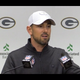 Packers head coach Matt LaFleur shares his thought process behind calling the final play of the game against the Chiefs: a pass to Aaron Jones.