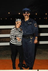 Silvia and Tony Signoret play good cop/bad convict.