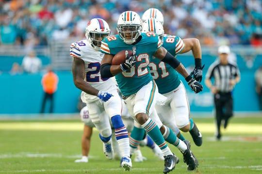 Durante 4 temporadas con los Dolphins, Drake ha acumulado 333 acarreos para 1,532 yardas y 9 TD