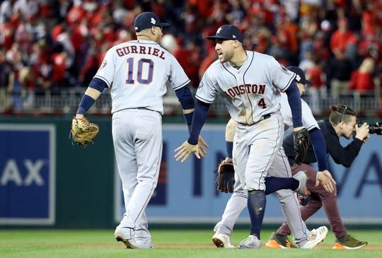 Astros de Houston buscan el título.