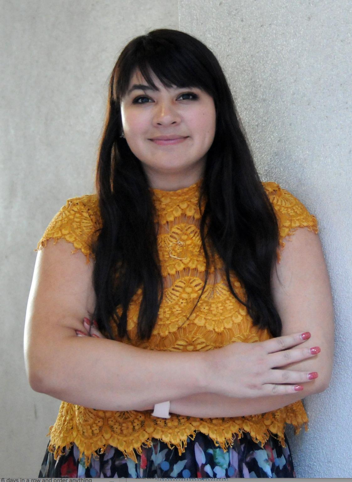 Reyna Montoya, dreamer y activista.