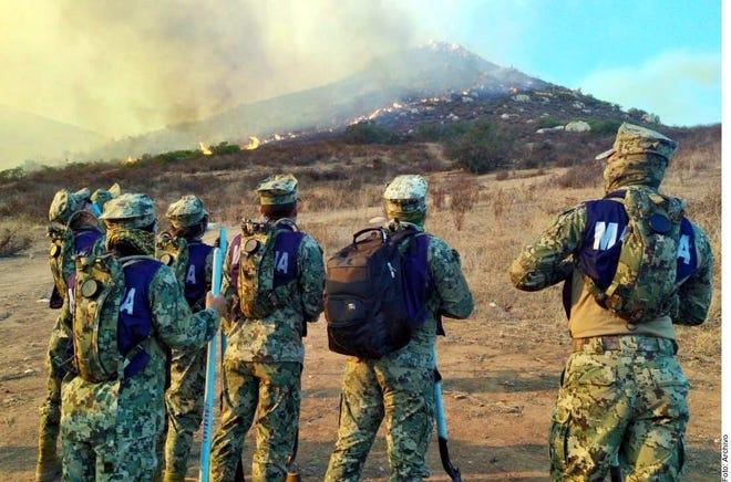 De acuerdo con el Presidente, los incendios ya fueron controlados en un 90 por ciento.