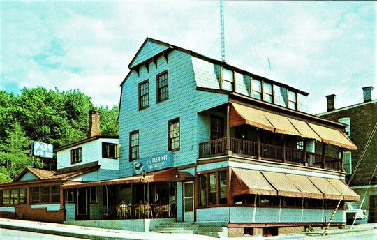 Prior to purchasing the hotel and restaurant in Pleasant Valley in 1951, James and Mabel Talbot ran the Fish Net, a popular restaurant on Main Street in Poughkeepsie.