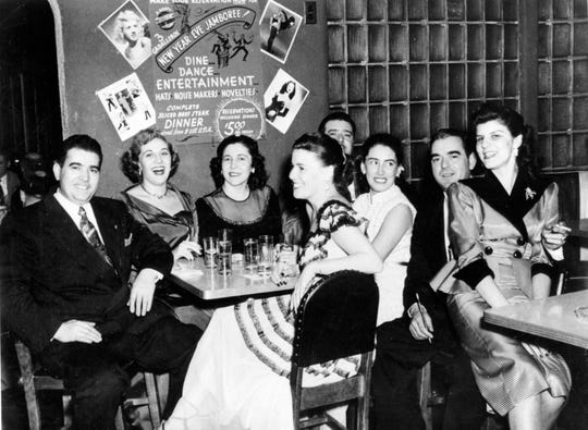 Val Sammarco and his brothers, Gene and Pat, had a band that toured the United States in the 1940s. The brothers opened three restaurants in the area, one of which was the Three Caballeros on South Avenue in Poughkeepsie.