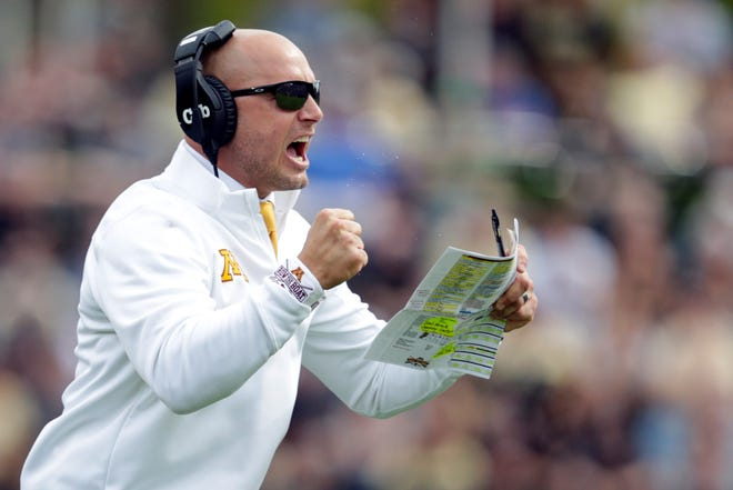 Minnesota head football coach P.J. Fleck wants ESPN's College GameDay to do its Nov. 9 show from Minnesota. The Golden Gophers face Penn State in a battle of unbeatens on that day.