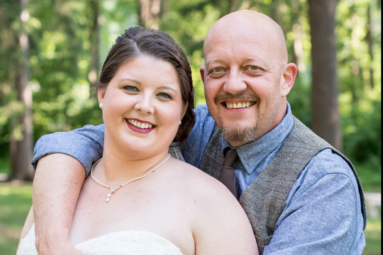 Megan and Todd Burke on their wedding day, June 18, 2016, already had Todd's two sons, but adoption was something that Megan had wanted to do since she was in college. Now, they're nearing the end of that process.