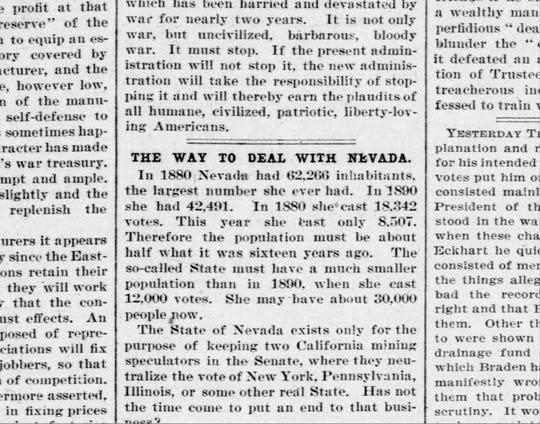 Chicago Tribune, Dec. 3, 1896