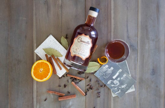 Cannella Cinnamon Cordial is the flagship spirit at the new Ferino Distillery, owned by the Cannella family, on East Fourth Street in Reno.